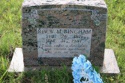 Rev W. M. Bingham