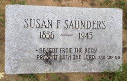 Susan F. Susie <i>Rawlings</i> Saunders