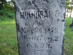 Minnorah B. Gearhart