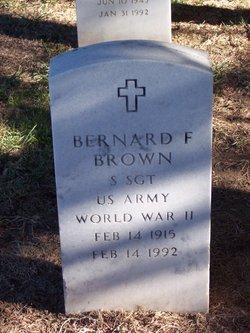 Bernard F Brown