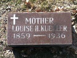 Louise H <i>Romann</i> Kuebler