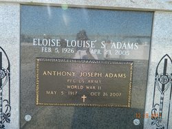 Eloise Louise <i>Savoie</i> Adams
