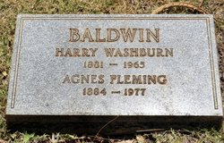 Harry Washburn Baldwin