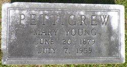 Mary <i>Young</i> Pettigrew