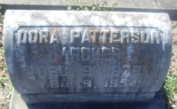 Dora <i>Patterson</i> Acker