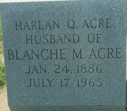 Harlan Quincy Acre