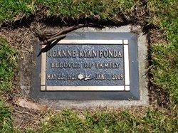 Jeanne <i>Ryan</i> Fonda