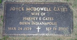 Joyce <i>McDowell</i> Gates