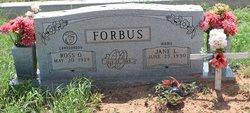 Jane Lou <i>McCraw</i> Forbus