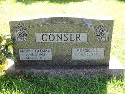 Mary C <i>Coleman</i> Conser