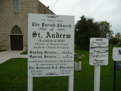 Saint Andrew's on the Red Anglican Church Cemetery