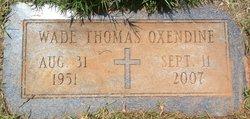 Wade Thomas Oxendine