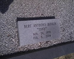 Bert Anthony Tony Boykin