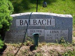Erma Frances <i>Bachert</i> Balbach