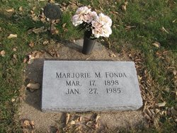 Marjorie M. Fonda