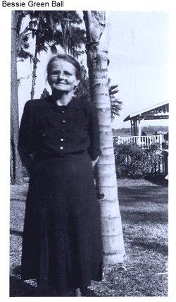 Bessie Lenora <i>Green</i> Ball
