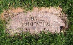 Ida E <i>Wichers</i> Blumenthal