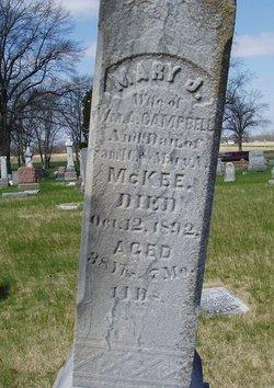 Mary J. <i>McKee</i> Campbell
