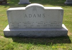 Virginia Catherine <i>Neville</i> Adams