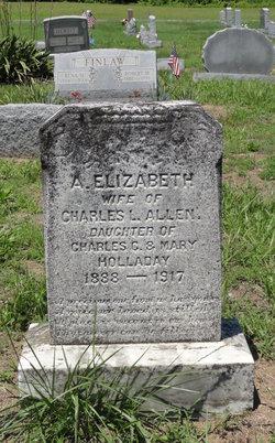 A. Elizabeth <i>Holladay</i> Allen