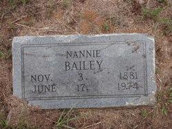 Nannie <i>Gill</i> Bailey