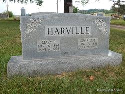 Mary F <i>Malicoat</i> Harville