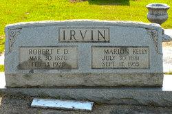 Francis Marion Marion <i>Kelly</i> Irvin