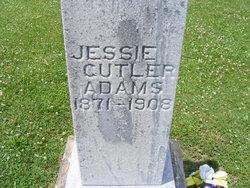 Jessie E. <i>Cutler</i> Adams