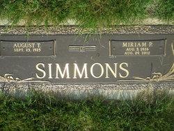 Miriam Phyllis <i>Frank</i> Simmons