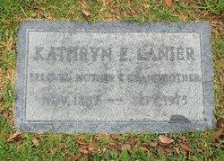 Kathryn Edith <i>Grinslade</i> Lanier
