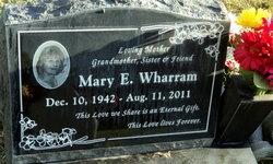 Mary Elizabeth <i>Hatch</i> Wharram