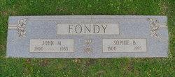 Sophie <i>Bruhn</i> Fondy