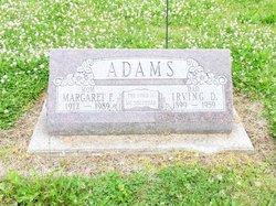 Margaret F <i>Shattack</i> Adams