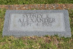 Sydney Eugenia Alexander