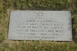 Amos J Guidry