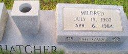 Mildred <i>Buckhalter</i> Hatcher