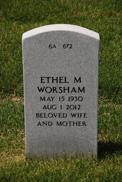 Ethel Mae <i>Alexander</i> Worsham
