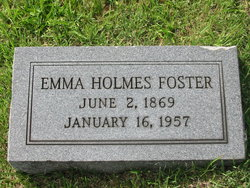 Emma Jane <i>Holmes</i> Foster