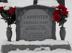 Kathleen Janet Kathy <i>Gregg</i> Carpenter