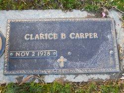 Clarice Edna Sister <i>BIGGS</i> Carper