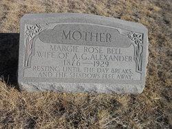 Margie Rose <i>Bell</i> Alexander