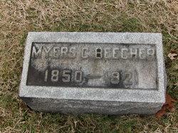 Myers C Beecher