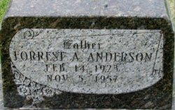 Forrest A Anderson