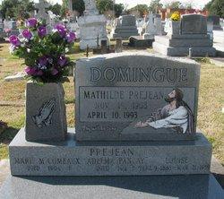 Mathilde <i>Prejean</i> Domingue