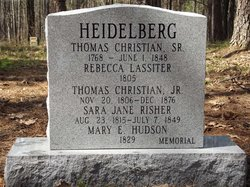 Rebecca <i>Lassiter</i> Heidelberg