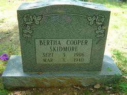 Bertha <i>Cooper</i> Skidmore