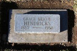 Grace Mertie <i>Rideout</i> Hendricks