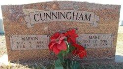 Mary Virginia <i>Leatherwood</i> Cunningham
