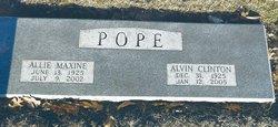 Allie Maxine <i>McConathy</i> Pope