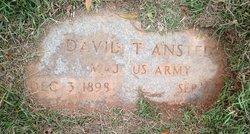 Maj David T. Ansted